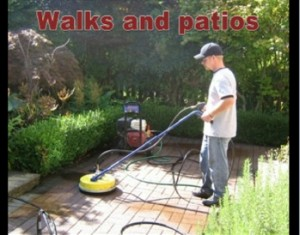 Patio pressure washing in Coquitlam